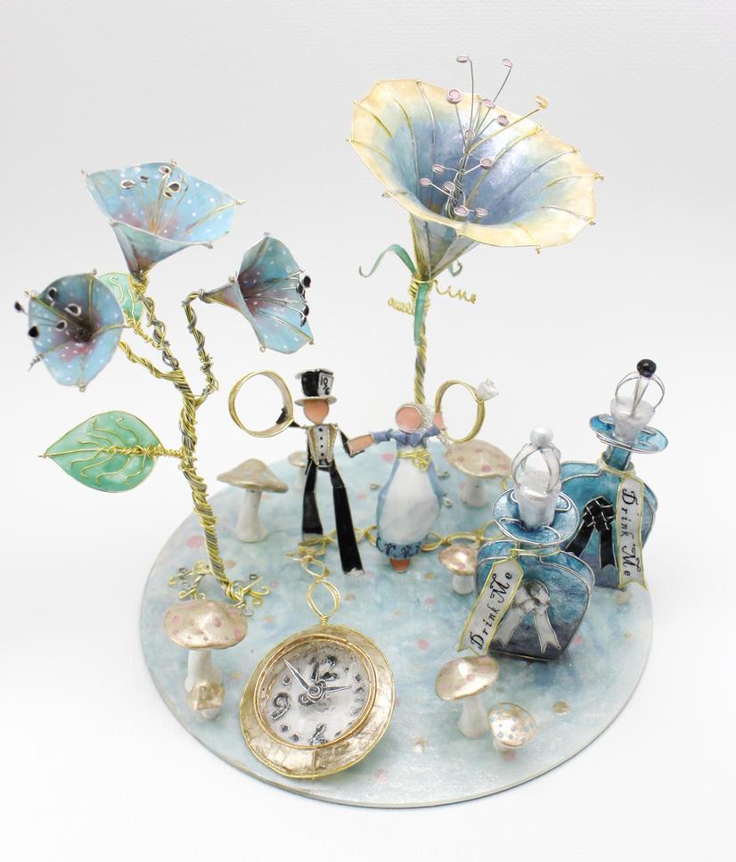 Beautiful Alice In Wonderland Wedding Cakes Contemporary - Styles ...