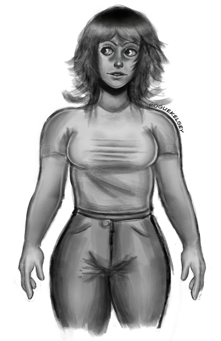 70's Gal by ROGUEKELSEY