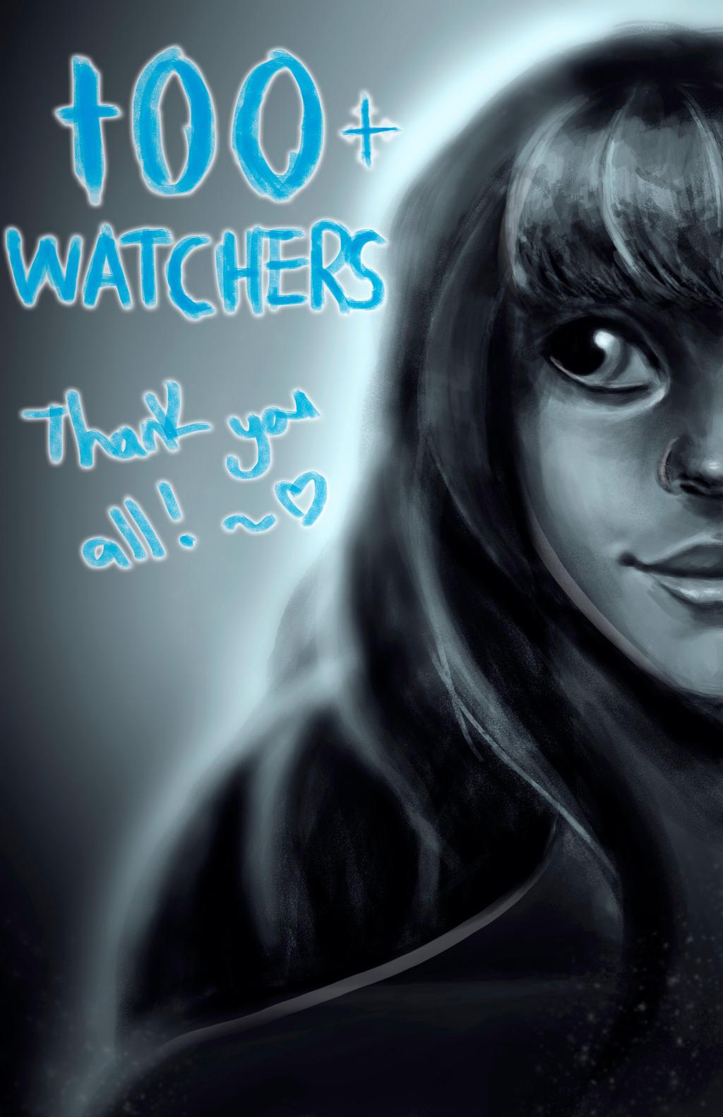 100 Watchers (W/Timelapse) by ROGUEKELSEY