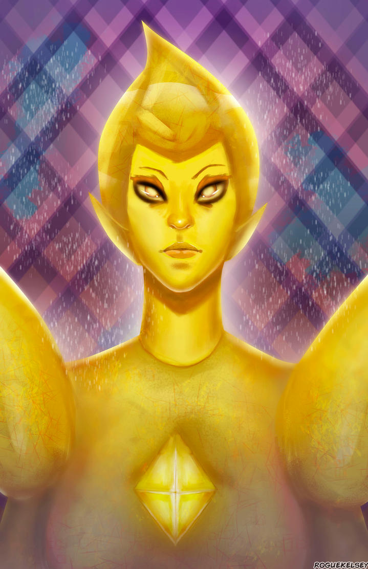 Yellow Diamond by ROGUEKELSEY