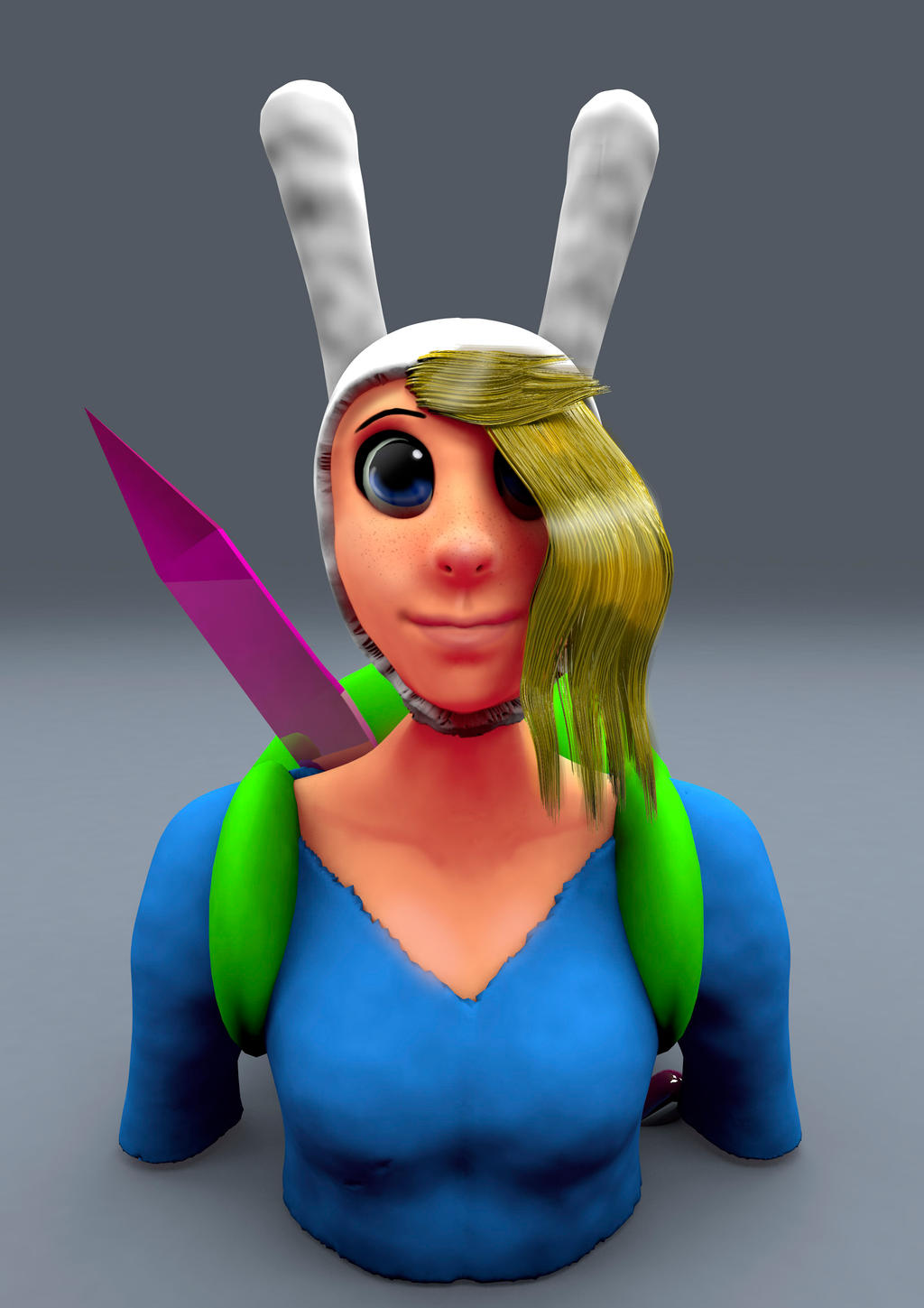 Fionna Bust by ROGUEKELSEY