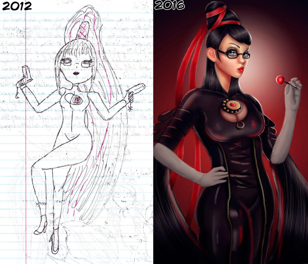 Draw This Again Meme - Bayonetta by ROGUEKELSEY