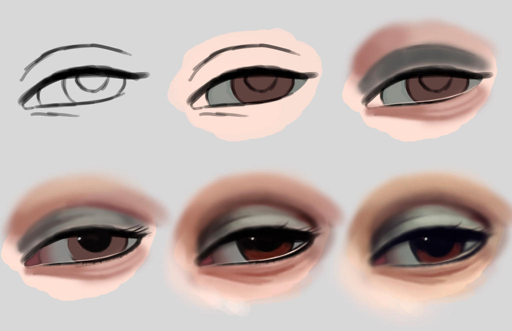 Eye Process by ROGUEKELSEY