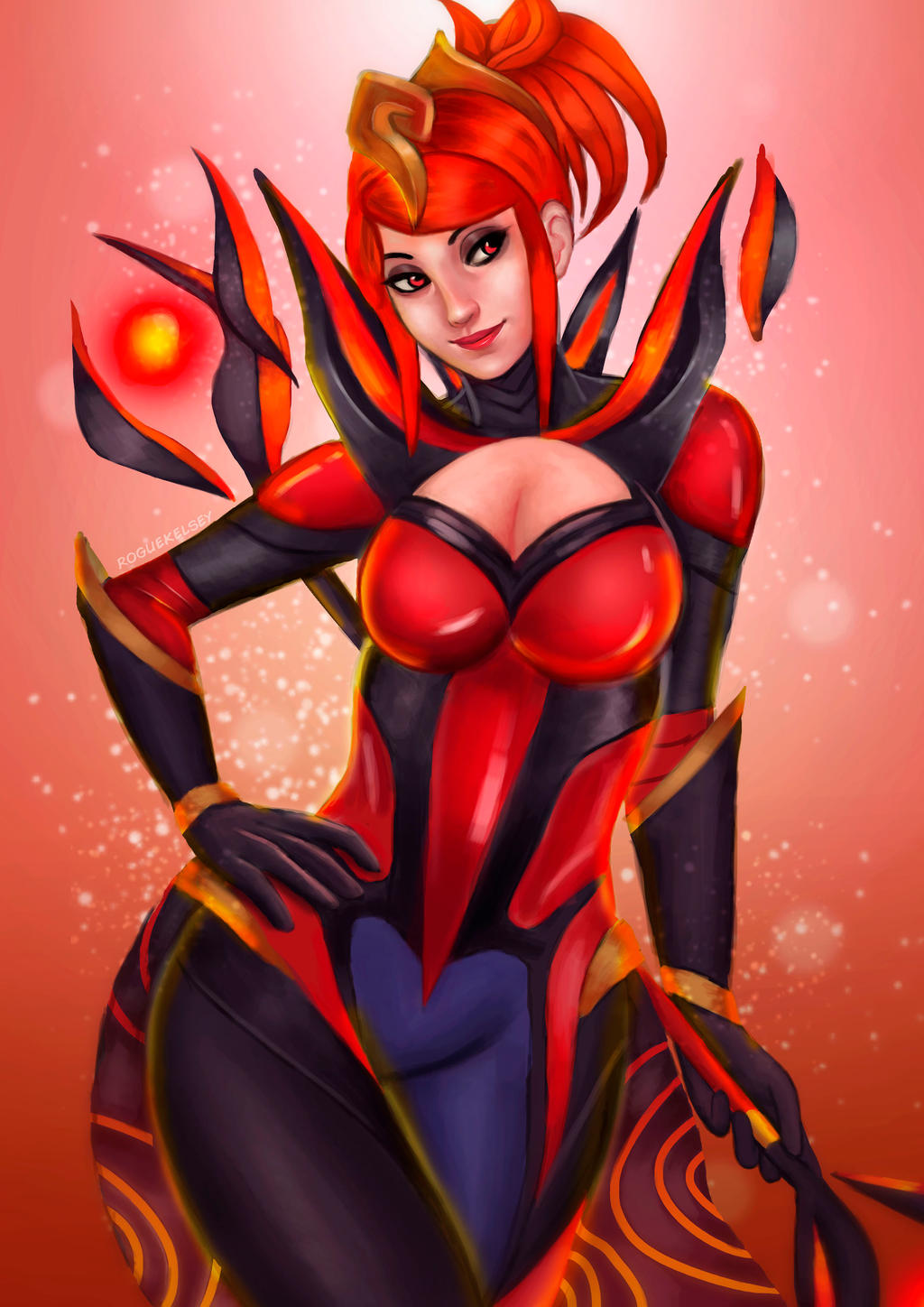 Magma Lux by ROGUEKELSEY