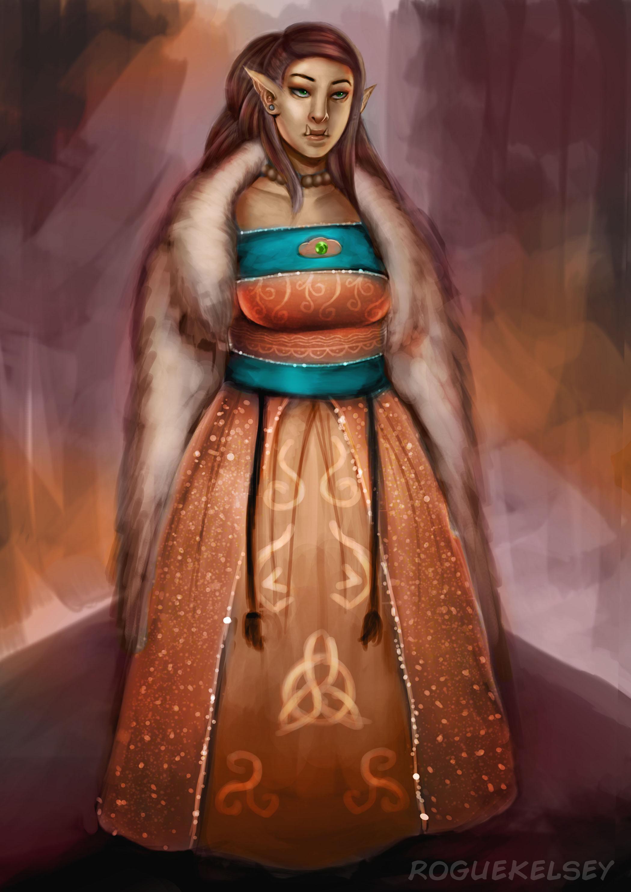 Germaine's Dress by ROGUEKELSEY