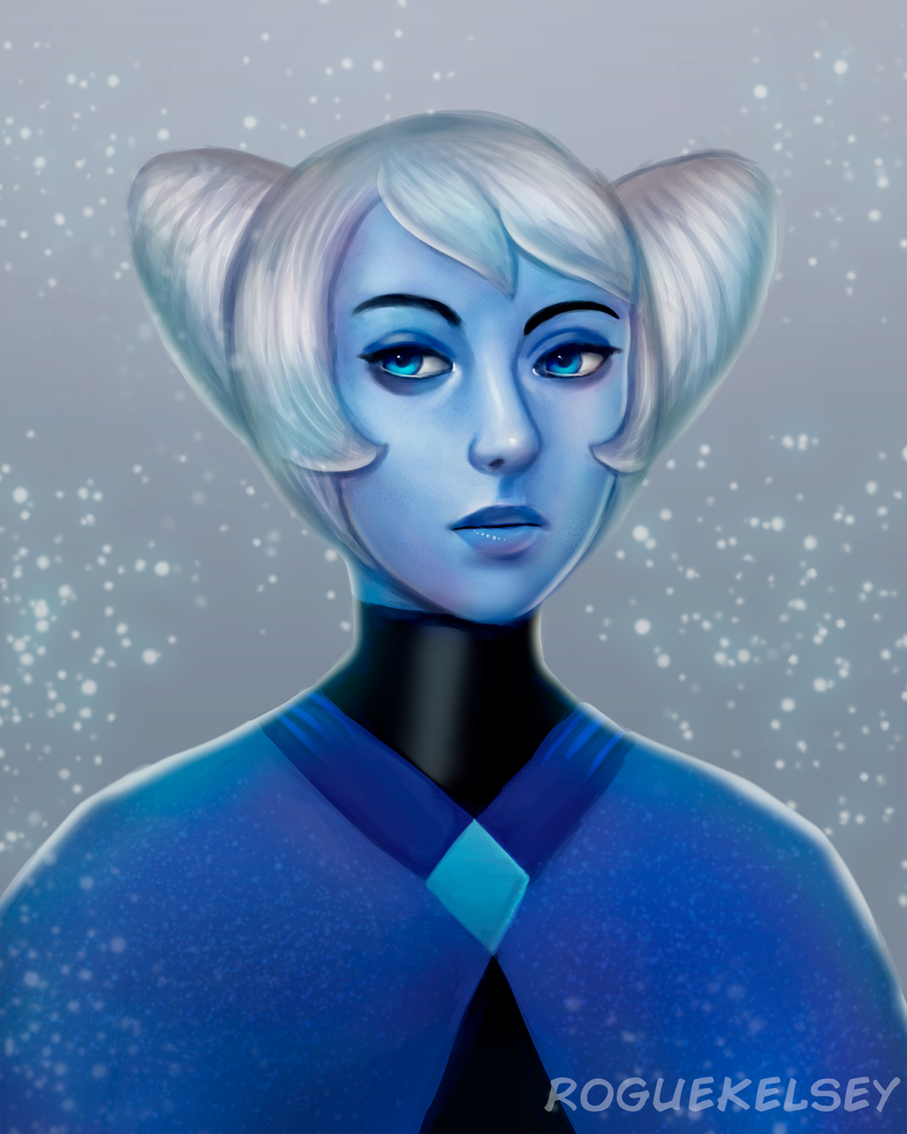 Holly Blue Agate (Speedpaint) by ROGUEKELSEY