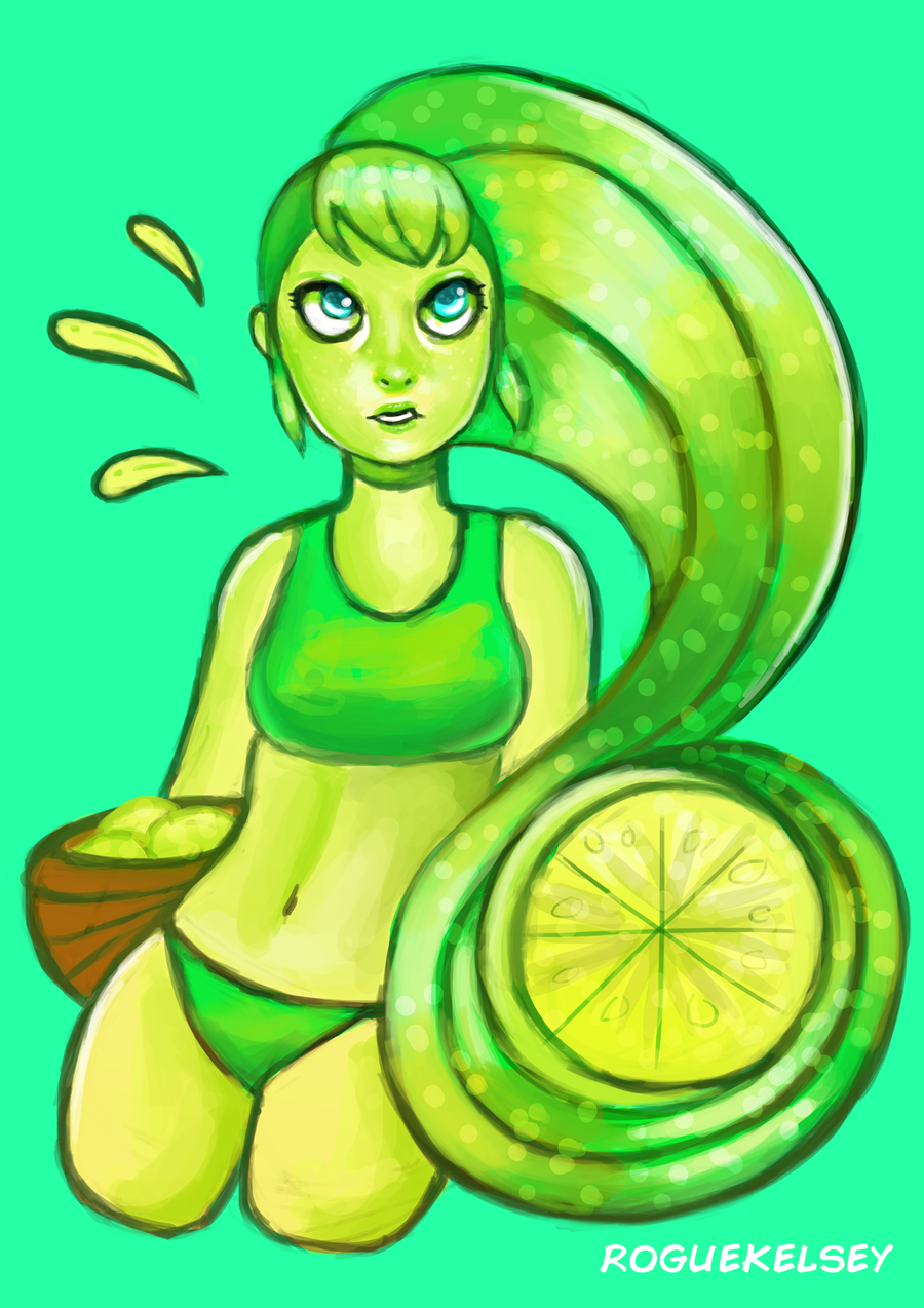 Limes (Speedpaint) by ROGUEKELSEY