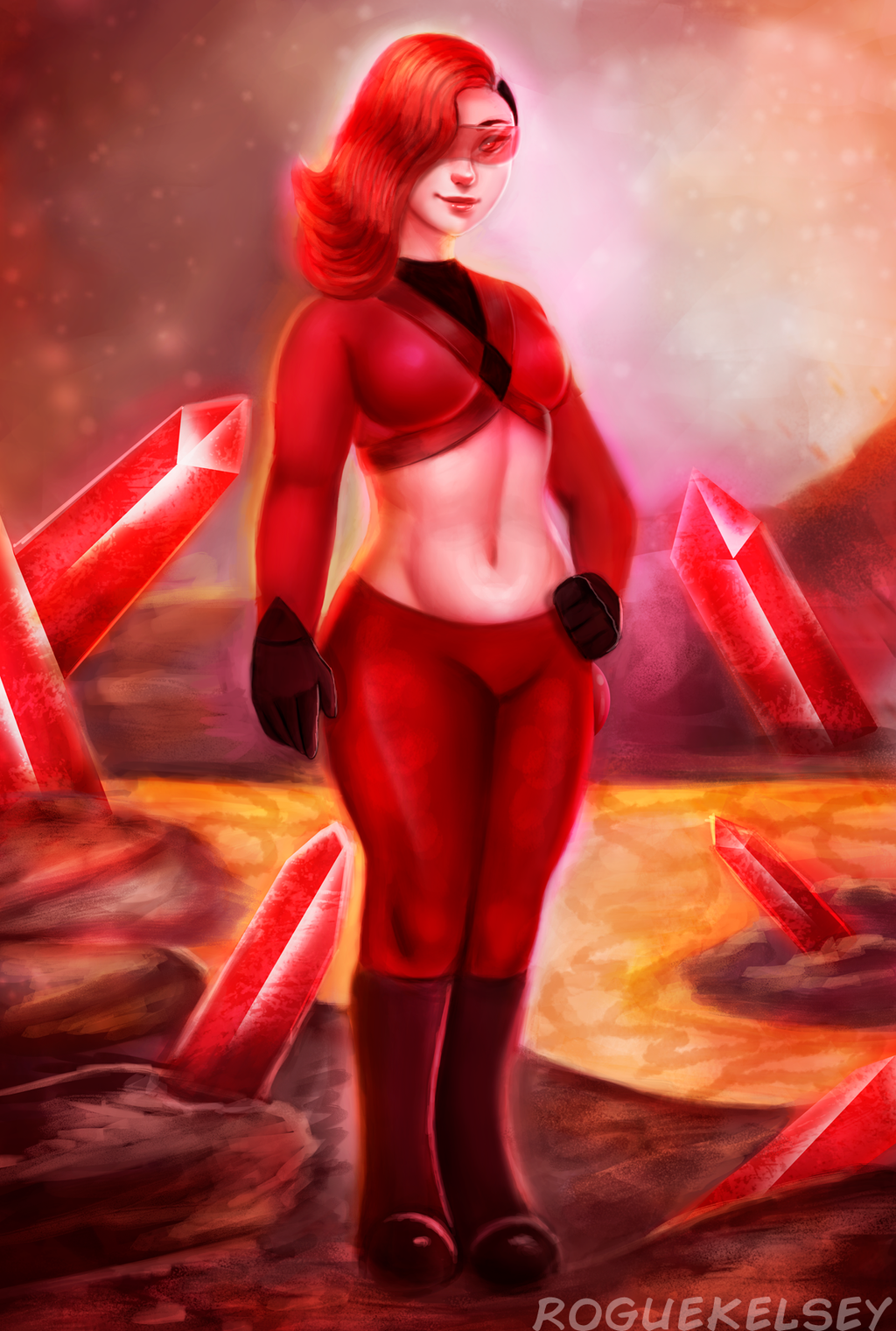 [Challenge Prize] Red Onyx by ROGUEKELSEY