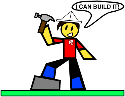 Roblox: I can build it! by BubbleBotMicheal