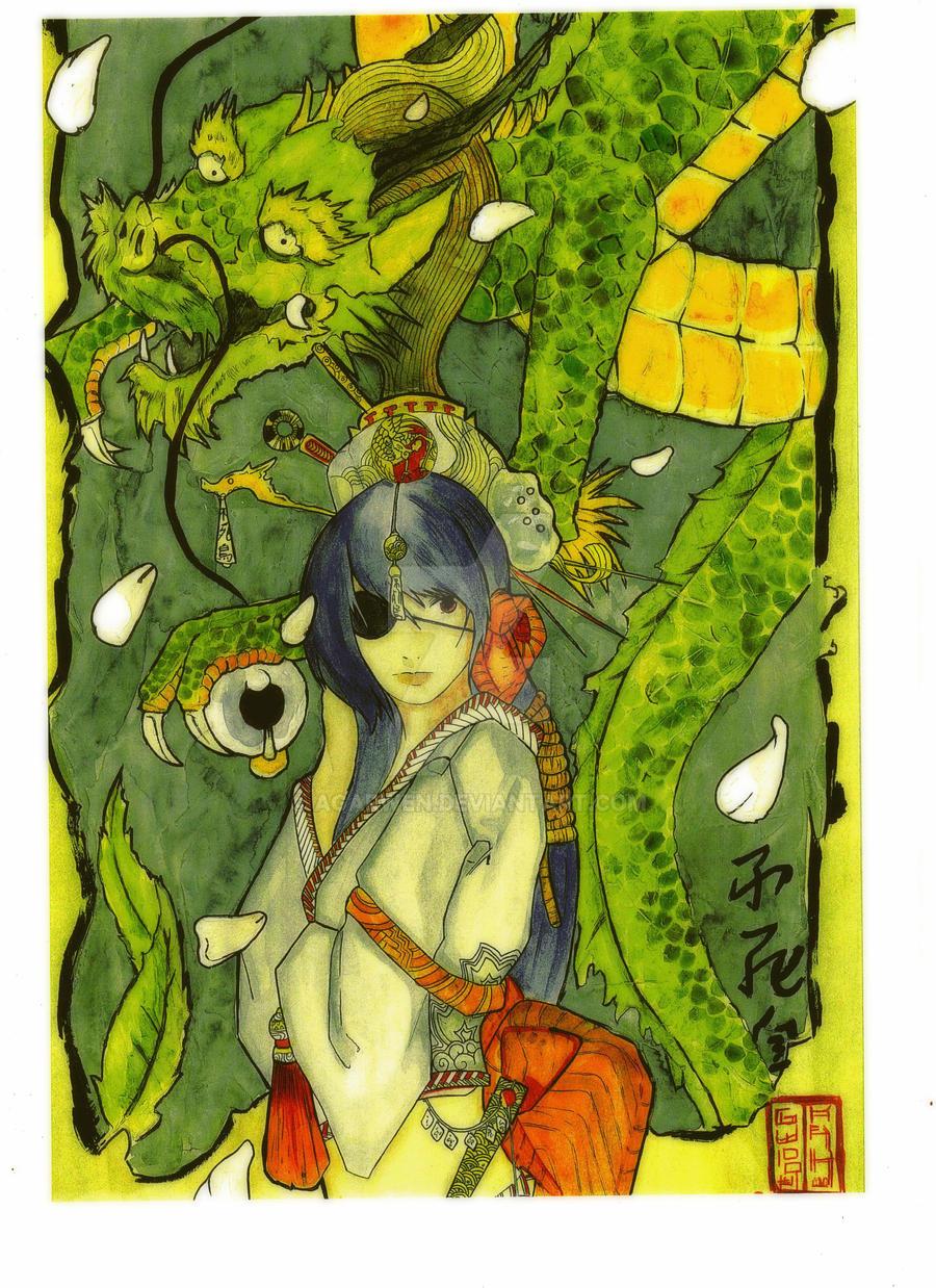 DRAGON LADY by Agarwen
