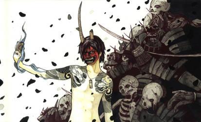 THE DEVIL WALKS by Agarwen