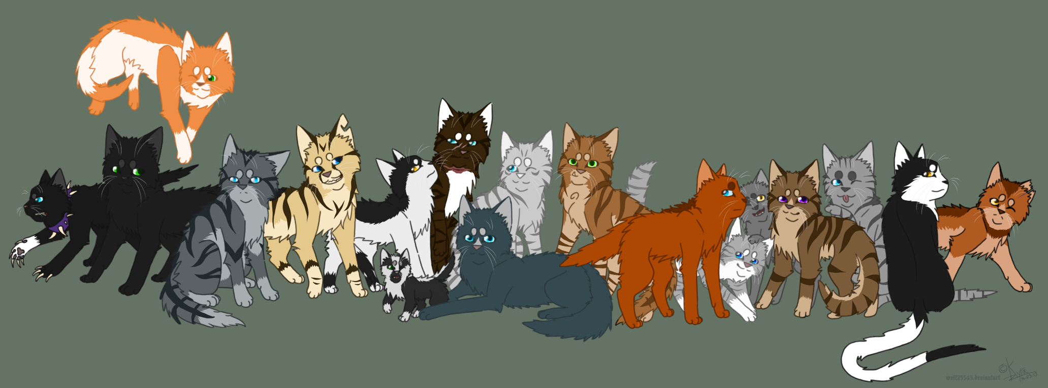 Which Warrior Cat Are You From The New Prophecy