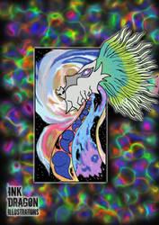 Galaxy Dragon by TheSleepyGhost