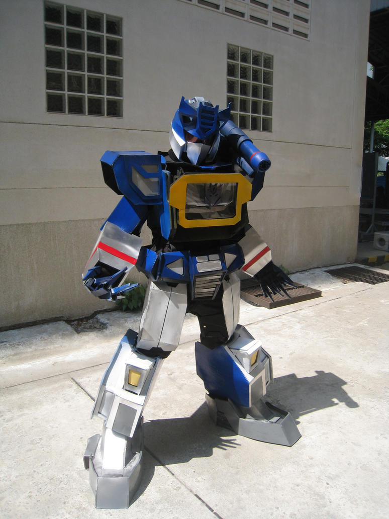 My Soundwave Cosplay by Darkgodmaru