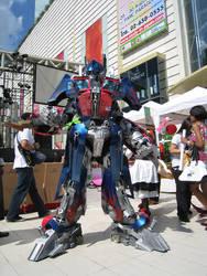 My Optimus Prime Cosplay