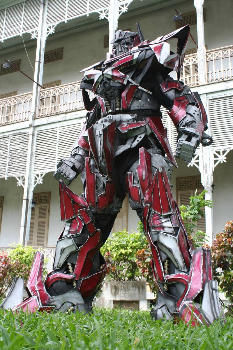 My Sentinel Prime Cosplay by Darkgodmaru