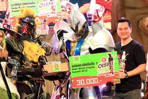 White Knight and Black Knight Cosplay by Darkgodmaru
