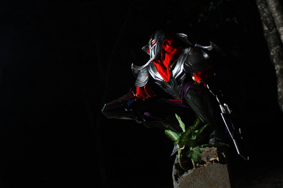 LOL - My Zed Cosplay by Darkgodmaru