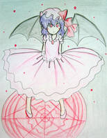 Remilia Scarlet by quynhanhnguyendac