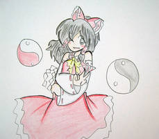 Reimu is epic by quynhanhnguyendac