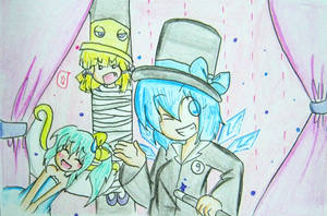 Cirno the baka magician by quynhanhnguyendac