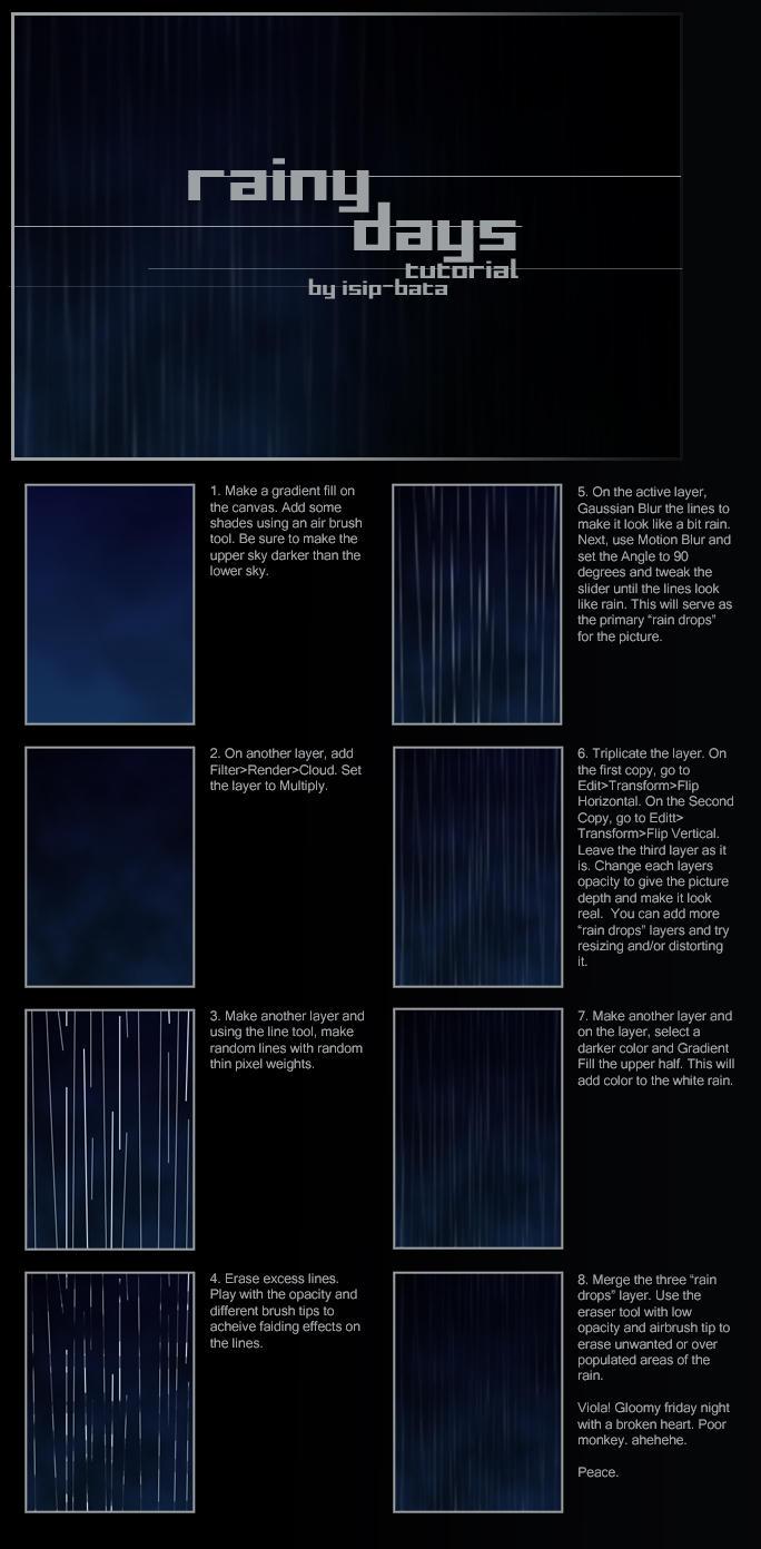 rain tutorial by isip-bata