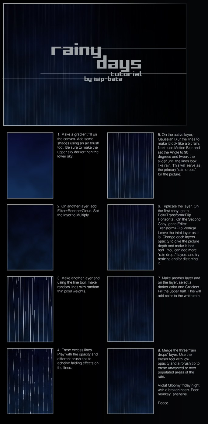 rain tutorial by isip-bata