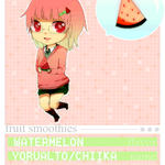ID: Watermelon Fruit Smoothie by yorualto
