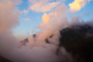 La tete dans les nuages...
