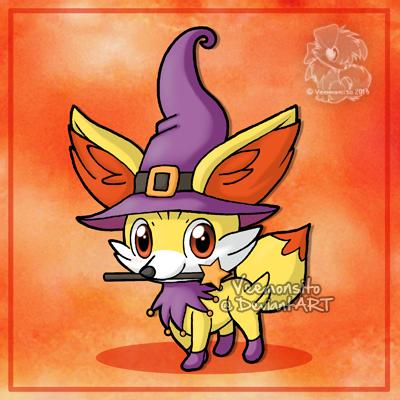 fennekin the witch by veemonsito on deviantart