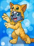 [Commission] Kitten kigurumi by Veemonsito