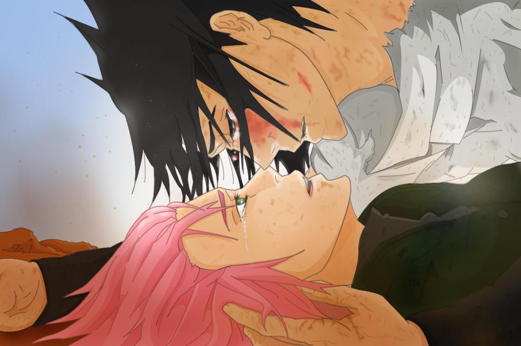 sasuke protects sakura wallpaper - photo #24