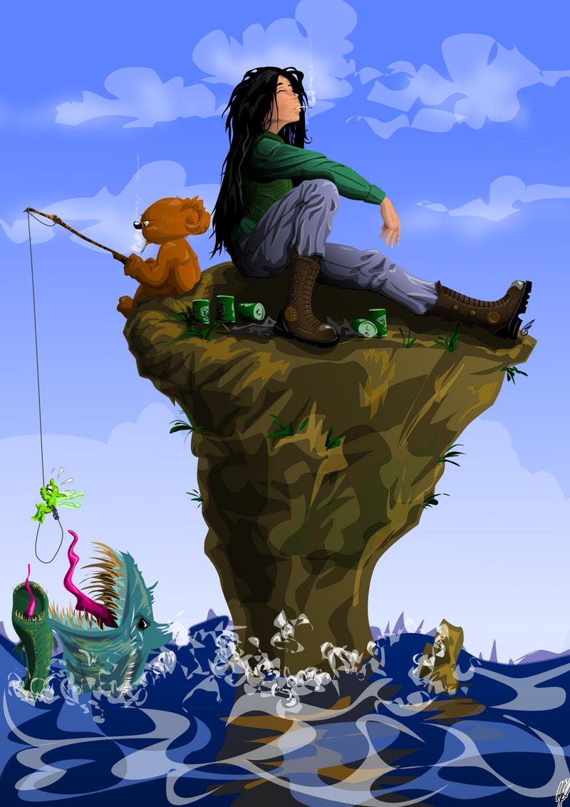 Gone fishing. Back soon. by wflu