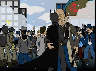Dark Knight Slash by philippegagnon