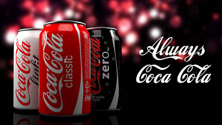 Coca Cola can animation by aarongraphics