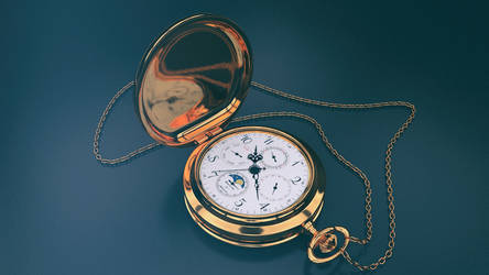 Pocket Watch by aarongraphics
