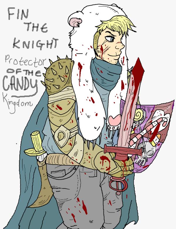 Finn the knight by superlucky13