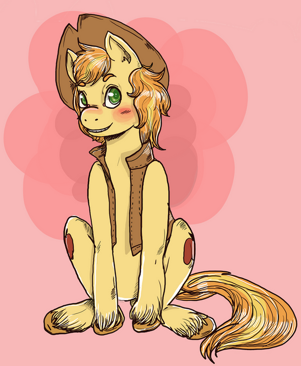 blushing Braeburn by superlucky13