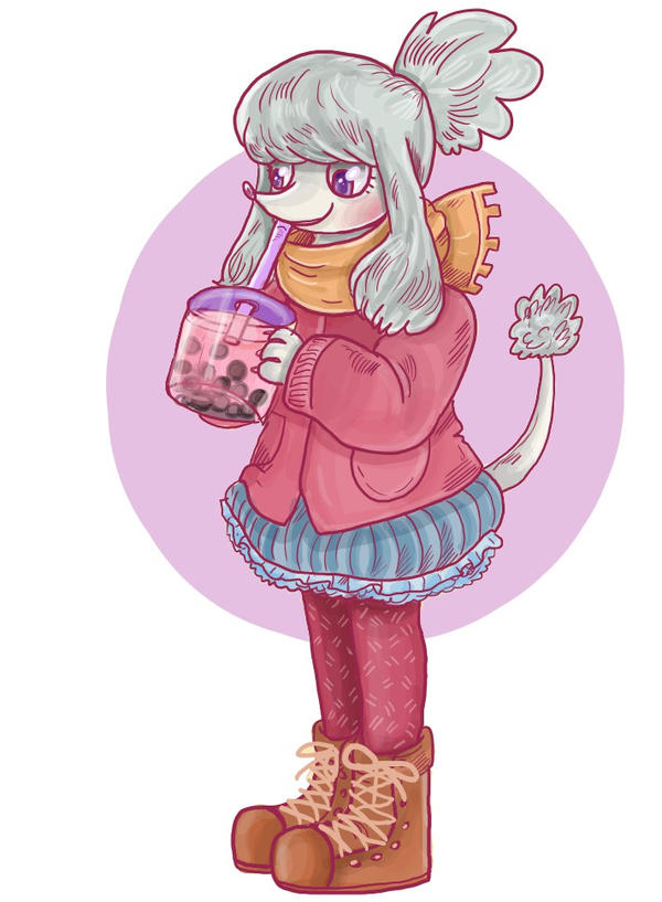 Poodle doodle by superlucky13