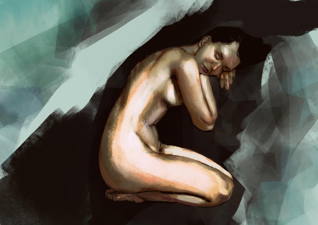 figure painting by oznasl