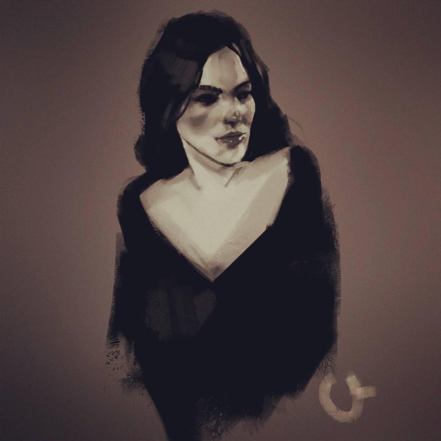 arwen quick sketch by oznasl