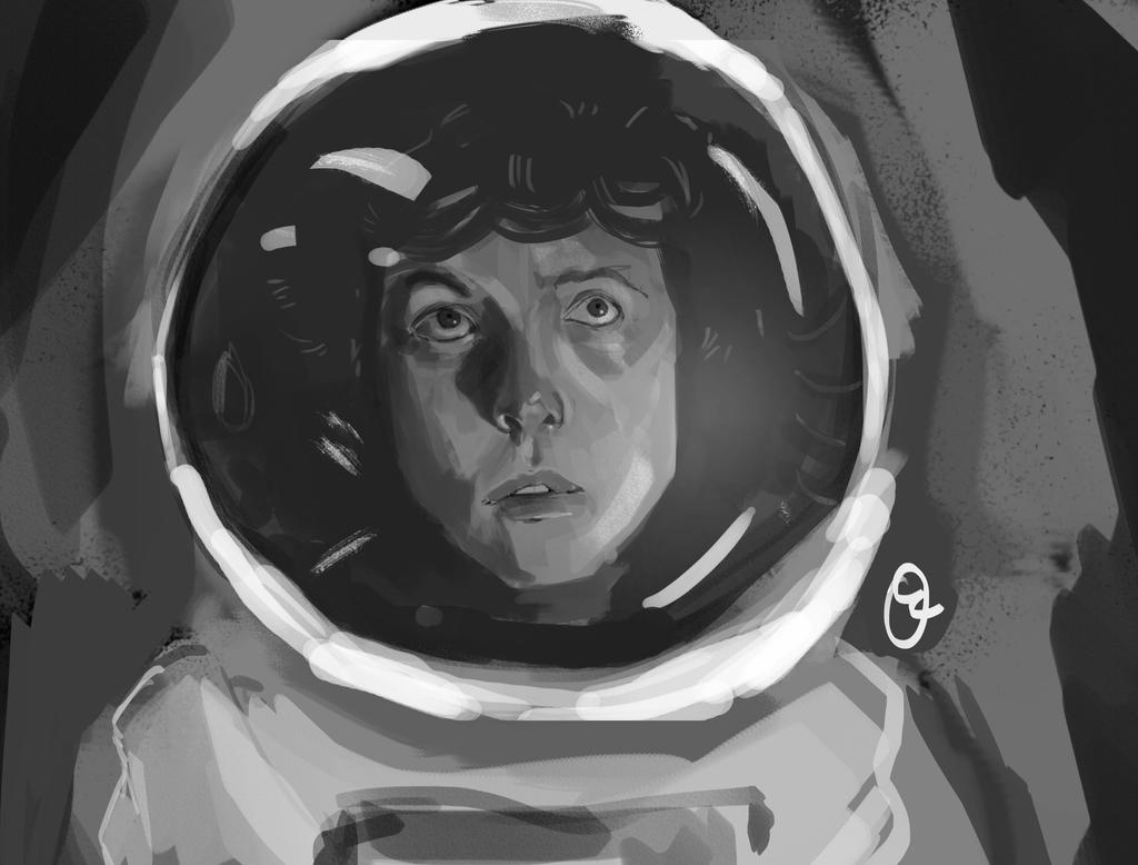 alien speed paint by oznasl