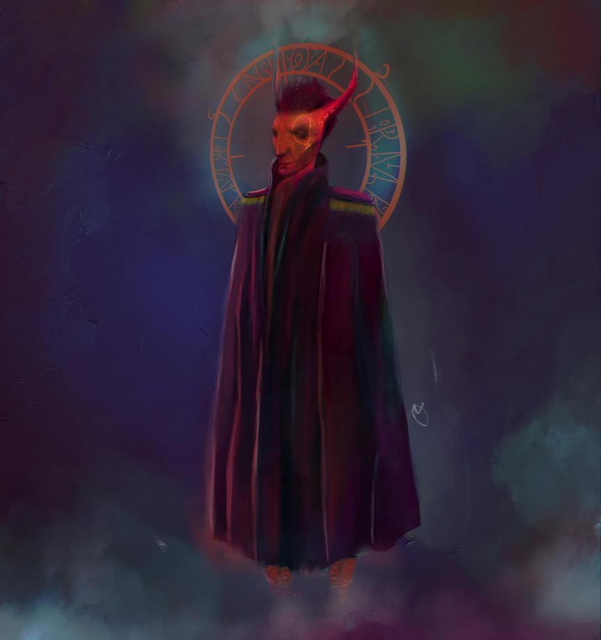 satan by oznasl