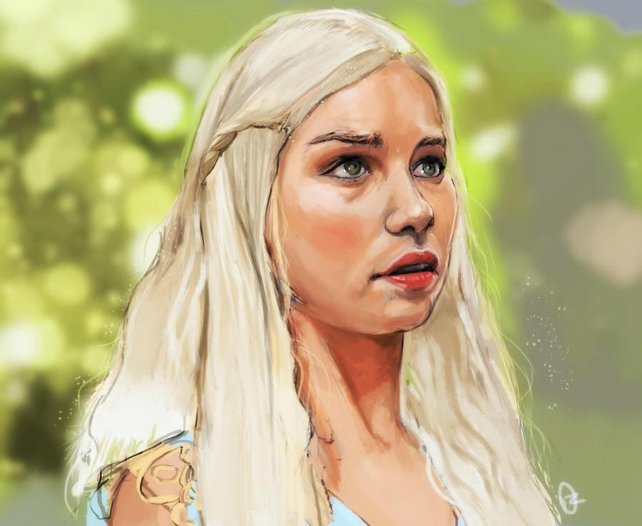 khaleesi by oznasl