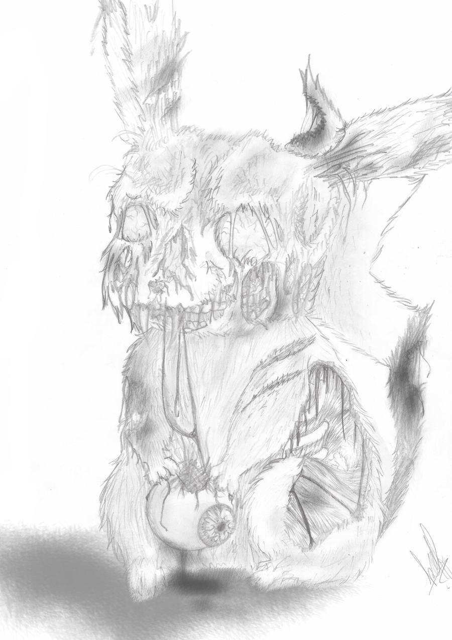 Zombie Pikachu Eats Ash