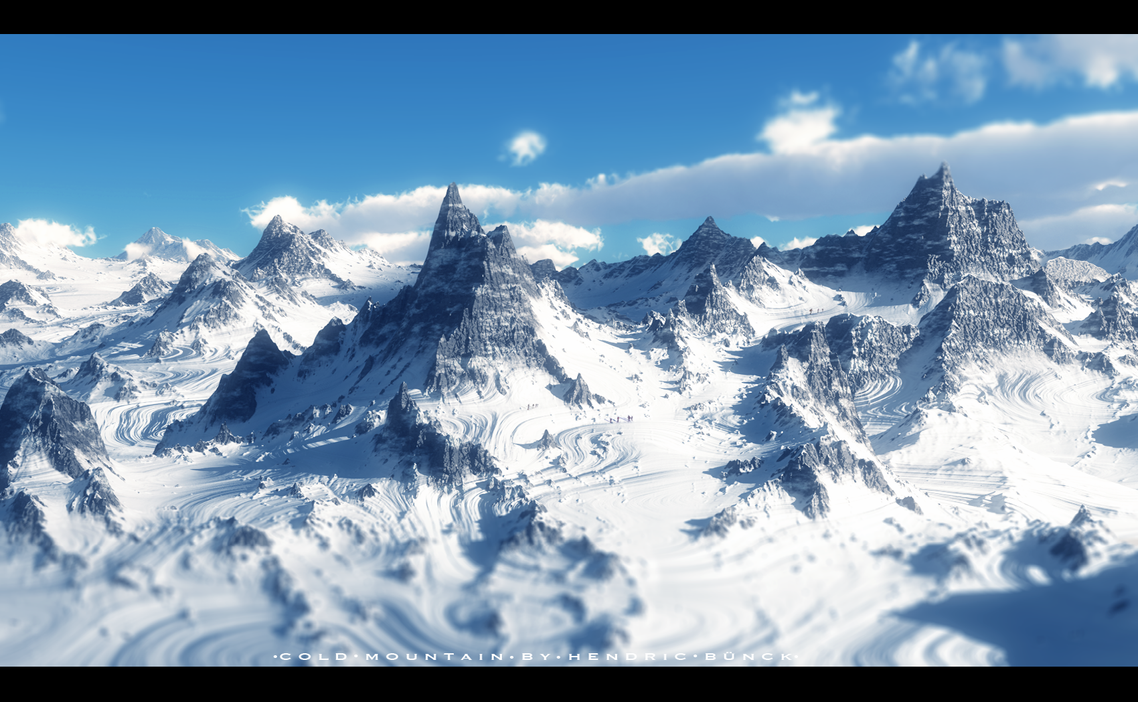 Cold Mountain by Hendricbuenck