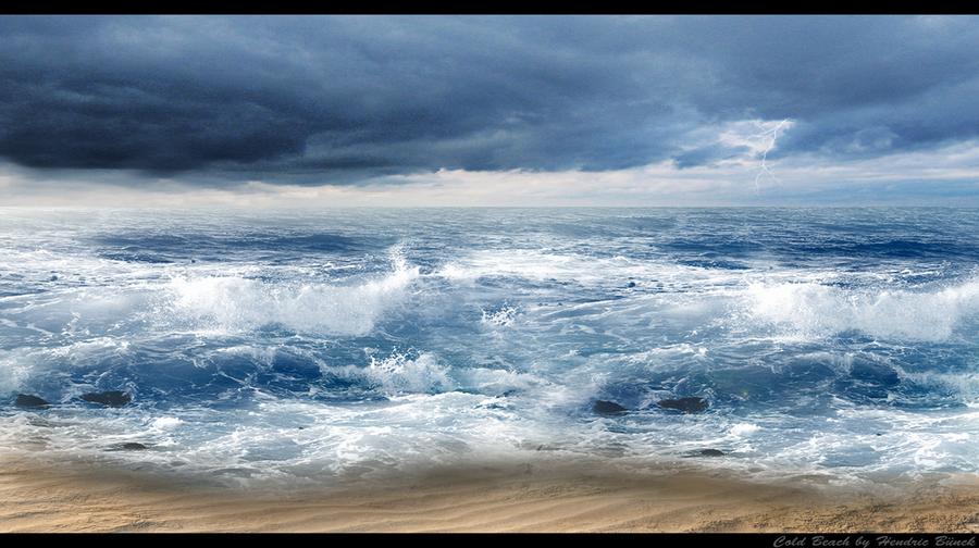 Cold Beach by Hendricbuenck