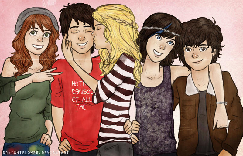 Percy Jackson and Co. by incredibru