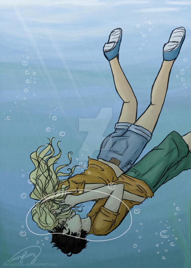 an underwater kiss by incredibru