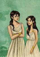 Hylla And Reyna by incredibru